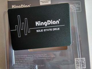 SSD nou KingDian S400 120GB. Citire-560 mb/s, scriere-430 mb/s - 450 lei.