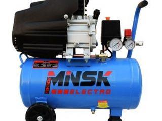 Compresor 24L 2kW Minsk Electro LAB-2024/Компрессор 24л 2кВт Minsk Electro LAB-2024/2000 lei