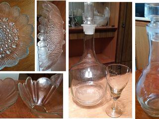 Посуда из металла и стекла