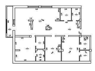Penthouse. 399e/m2.cu euro reparatie suprafata 170mp