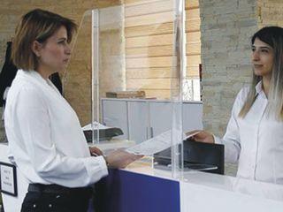 Защитные экраны для операторов, кассиров, продавцов