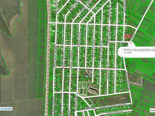 12 ari p-ru constructie in Stauceni, sector nou, toate retelele conectate