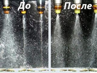 Проверка и чистка бензиновых форсунок на профессиональном оборудовании launch .