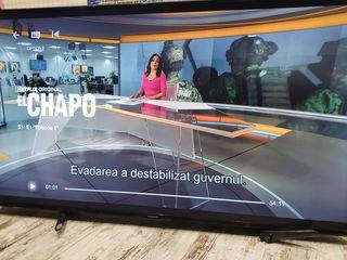 """Smart Uled 4K TV 55"""" nou"""