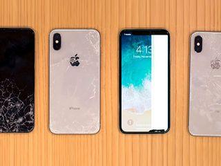 iPhone X 8/8+ 7/7+   schimbarea sticlei, cel mai bun pret si calitate