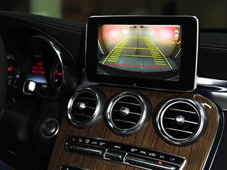 Камера заднего вида на штатный монитор Mercedes Comand