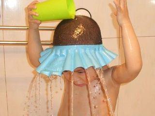 Accesorii pentru baie, aparatoare ochi si urechi pentru copii!