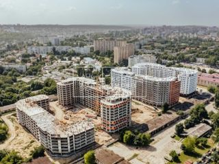 Buiucani, str. Ioana Radu, apartament 2 odăi + living, 67,5 m.p, 51 990€