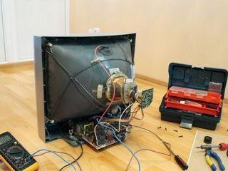 Профессиональный ремонт плазменных, LCD LED Smart-TV и кинескопных телевизоров