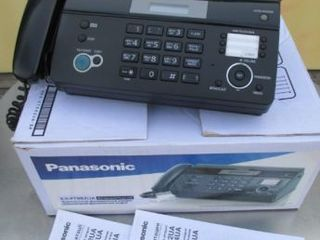 Thermal Fax Panasonic KX-FT982UA-B, Black, AOH, Caller ID