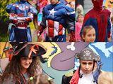 SpiderMan BatMan Capitan America IronMan Ninja Transformers Clovni haioşi