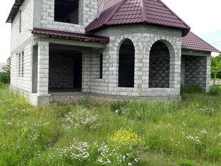 Vind casa nefinesata Ialoveni sat  Piatra Alba