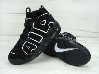 Nike Air More Uptempo (Black/White) Unisex