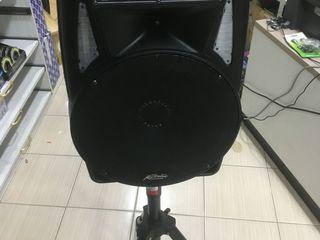 Boxa cu acumulator , microfon , bluetooth, usb, cu puterea de 180 w !!!  made in ue
