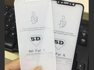 Sticle de protectie 5D la Iphone si Samsung