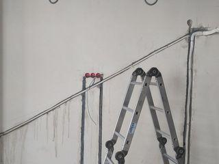 Закладка фреонопровода