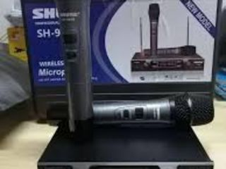 Baza cu 2 microfoane ,, Shure'' la pret de 100 Euro !!!Радиосистема Shure SH-999R, база, 2 микрофона