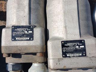 Гидравлические насосы, раздаточная коробкa, цылиндр/Pompe hidraulice, сutii de transmisie, razdatca