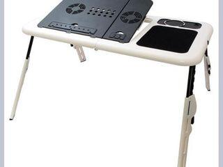 E- table Masa / Masuta laptop / Notebook pliabila tip cooler cu picioare ajustabile / Racitor !!!