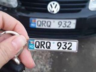 Брелок - сувенир - оберег с гос. номером вашего авто! (breloc, brelok, breloace, suvenir, брелоки)