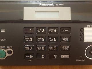 Продается телефон-факс panasonic kx-ft984 б/у (1 месяц) в отличном состоянии