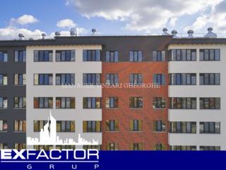 Exfactor Grup - Buiucani, 2 camere 67 m2 et. 3 de la 580 € m2 prețul 38.850 € cu prima rată 11.650 €
