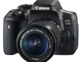 Canon 750D 18-55mm.