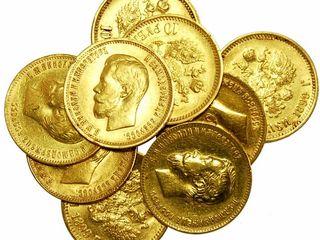 Куплю золотые, серебряные, янтарные, платиновые, палладиевые изделия, монеты, слитки.