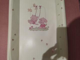 Ванночка с температурой + пеленальный столик