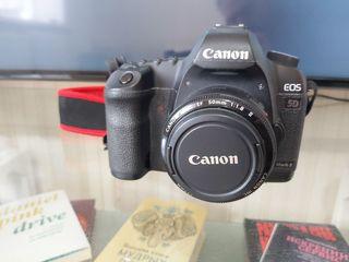 Canon 5D mark II + 18-55 mm 350€!