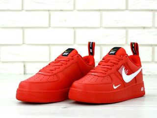 Nike Air Force 1 Utility Red Unisex