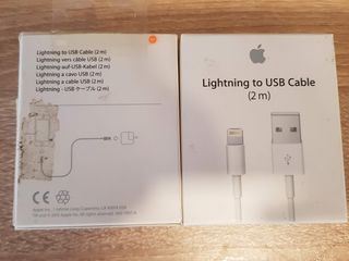 /1- Apple iPhone Lightning USB /2/-USB cable (1 m) - apple 30-pin. /3/ Apple Watch Magnetic Charging