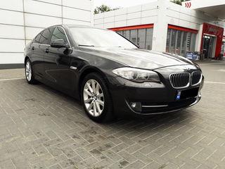 BMW 520d F10 chirie auto Chisinau călătorii Europa Ucraina Transfer cu sofer  Прокат авто в Кишиневе