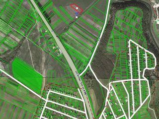 Teren agricol de vinzare suprafata 22 ari s.magdacesti 13 km de la chisinau in apropiere de traseu..