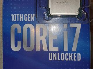 Новый Intel i7 10700K