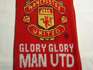 Fular Manchester pentru fani. Original.Preț.250 lei