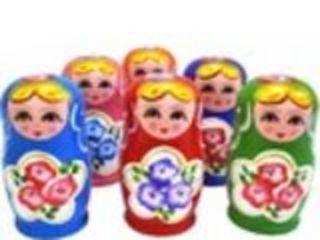 Матрешка русская 17 см 7штук