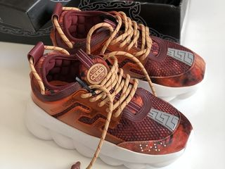 Versace Chain Reaction 2 Red Burgundy Unisex
