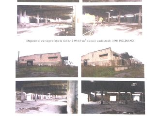 Construcții în număr de 13 unități cu teren de 6.9571 Ha în or.Drochia