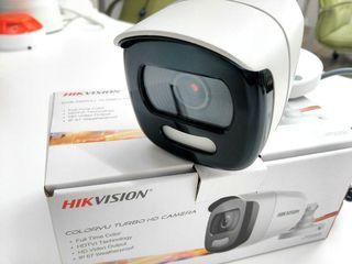 Hikvision уникальный набор видеокамер которые и ночью снимают в цвете! камеры от 68$ 3 года гарантии