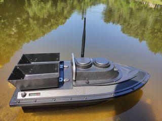Прикормочный кораблик до 500м - Flytec двухбоксовый. Доработанный.
