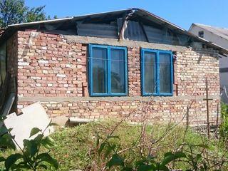 Lot pentru vila (6 ari) cu constructie nefinisata