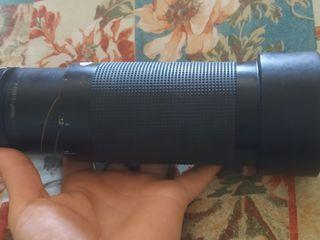 Aparat de fotografiat chinon cm-4 + obiectiv de la tamron sp 70-210mm  1:3.5