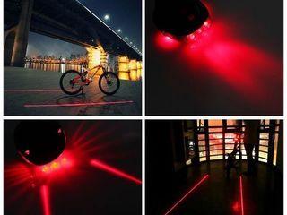 Accesorii pentru bicicleta, stop cu laser! Set lumini bicicleta. vitezometru! Suport de apa