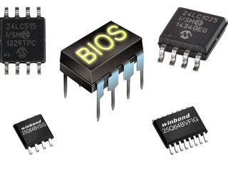 Прошивка BIOS, замена конденсаторов и термопасты, батарейки CR2032