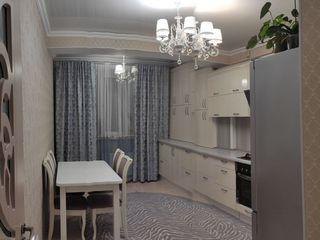 Apartament cu 1 odaie+living. 44m2. Mobilat. Bloc nou Lagmar, Florariei 4./Union Fenosa/ Rîșcanovca