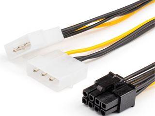 Livrare Adapter 8pin to 2molex, 6pin to 2molex, HDMI to VGA, FAN HUB PWM, DVI-I to VGA, Cablu SATA