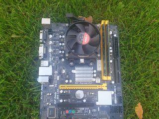 Plata+procesor+ddr3 4gb.