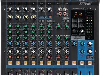 Mixer analogic Yamaha MG12XU. livrare în toată Moldova,plata la primire