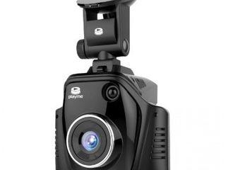 Супер радар-детектор 2-камерным регистратором и GPS-информатором о камерах!